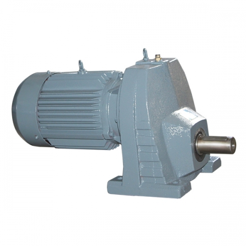 REC series single stage helical gearmotor